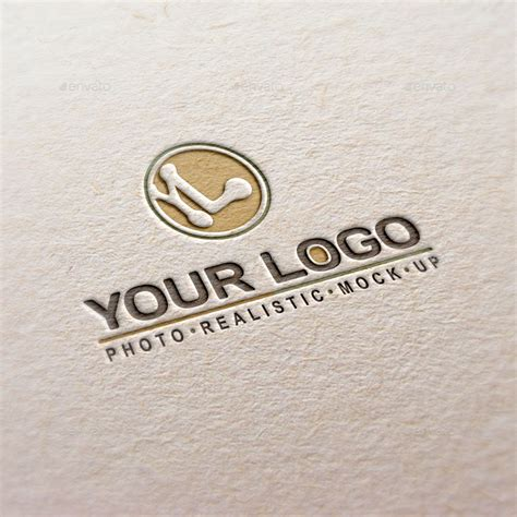 mockup design logo photorealistic logo mock up pack by perge76 graphicriver