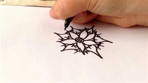 bloem tekenene mooie bloem tekenen youtube