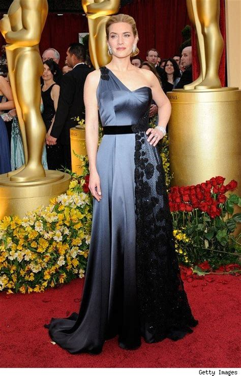 film oscar kate winslet best actress dresses past 20 years kate winslet