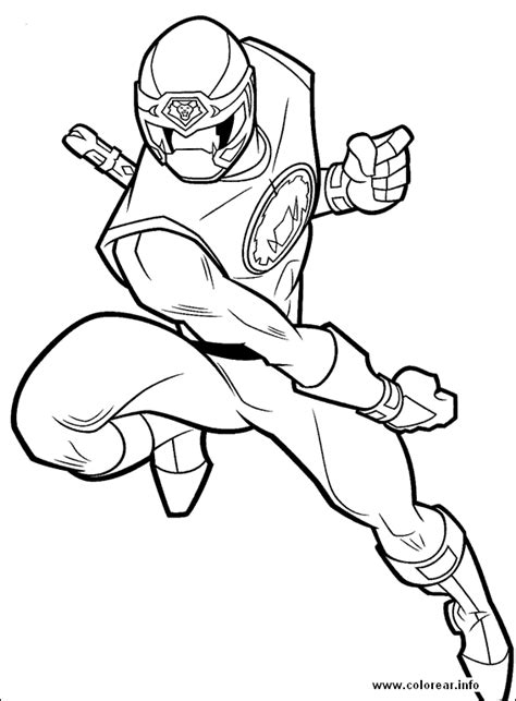 power ranger coloring page free power rangers samourai coloring pages