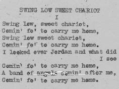 swing low sweet chariot movie 1000 ideas about swing low sweet chariot on pinterest
