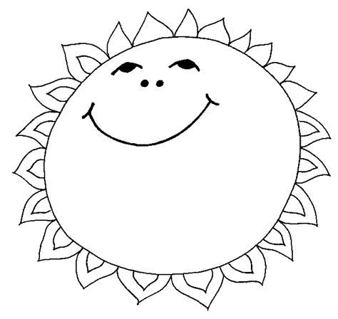 sun coloring page sun coloring pages