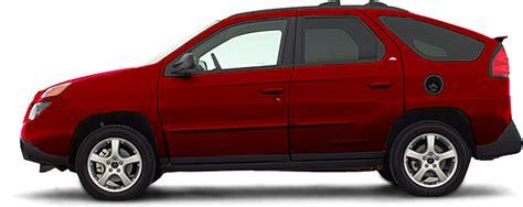 pontiac aztek red 2004 pontiac aztek fwd 4dr suv build a car 2004