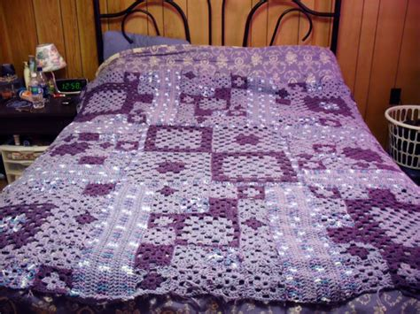 crochet pattern queen size blanket crochet multi size granny square queen bed blanket by