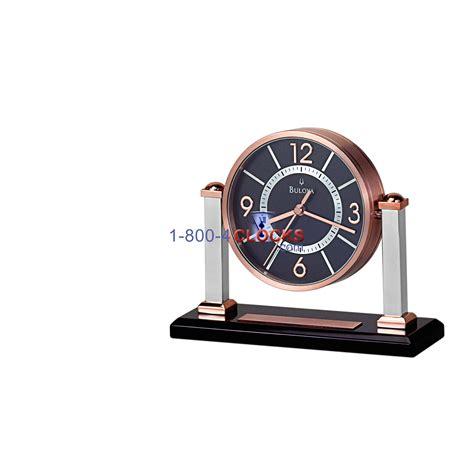 table top grandfather clock bulova coronet tabletop clock at 1 800 4clocks com