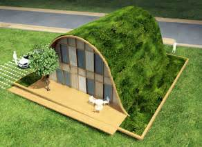 build a green home hill shaped french eco house is a new wave in green