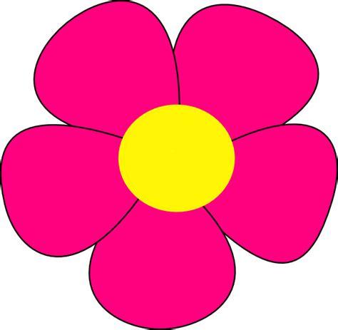 printable flowers clipart simple flower clip art at clker com vector clip art