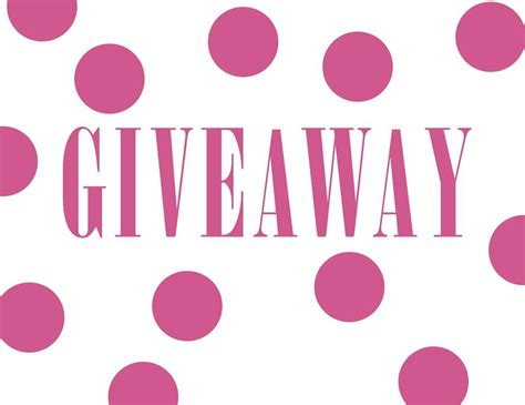 The Giveaway - giveaway jamberry
