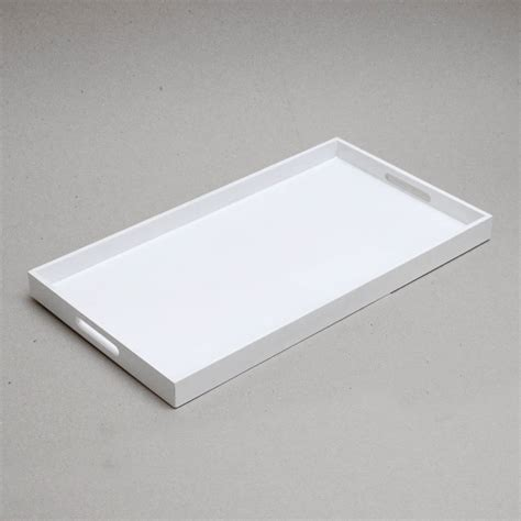 Rectangular Tray rectangular lacquer serving tray by nom living
