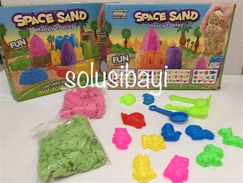 Mainan Pasir Ajaib Store Murah mainan edukatif pasir kinetik ajaib kinetic sand solusi bayi jual murah grosir spase sand 1