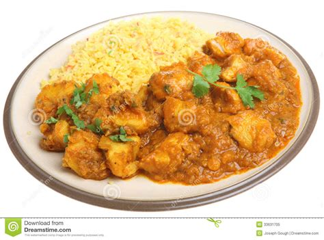 indian curry dinner indian chicken curry dinner food royalty free stock photo