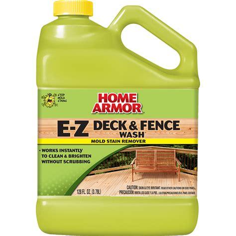mold armor ez house wash home armor e z deck fence wash gallon