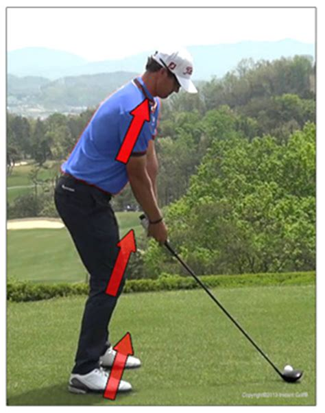 set up golf swing power golf address and setup position