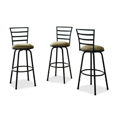 Kmart Bar Stool Set by Essential Home Black And Swivel Bar Stools Home