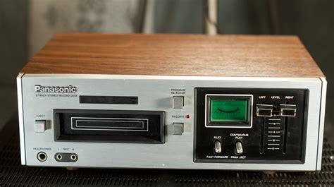 stereo 8 cassette panasonic rs 805us stereo 8 track cassette player