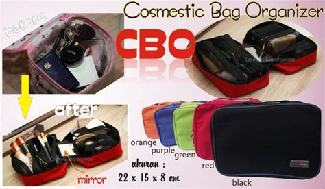 Cosmetic Bag Organizer Cbo cosmetic bag organizer cbo grosir organizer jogja