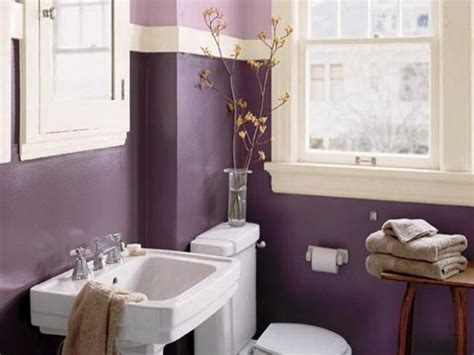 Painting Ideas For Bathroom Inspiring Small Bathroom Paint Color Ideas With With Wood Stool Picture