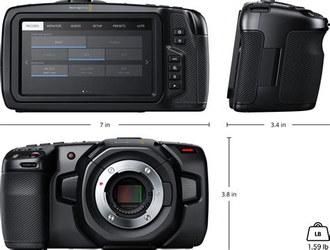 blackmagic design pocket cinema blackmagic pocket cinema tech specs blackmagic