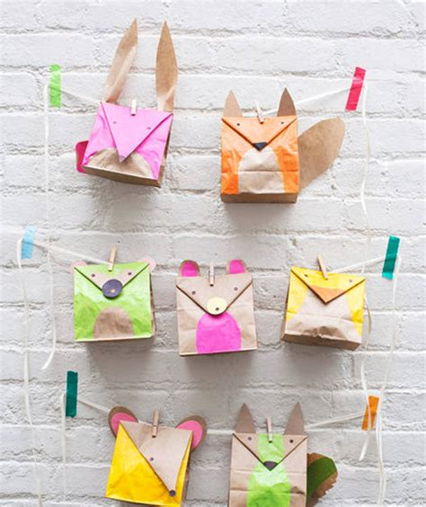 Paper Bag Craft Ideas - 6 awesome paper bag crafts for handmade