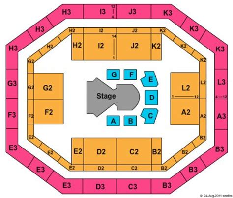 stephen o connell center seating chart stephen c o connell center tickets and stephen c o