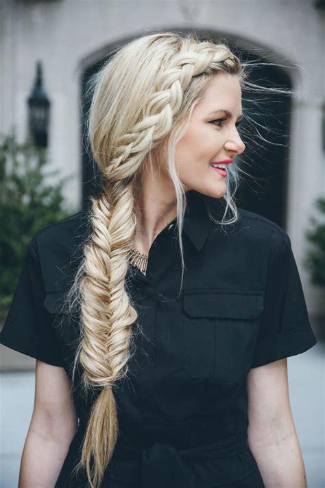 best 20 side fishtail braids ideas on pinterest