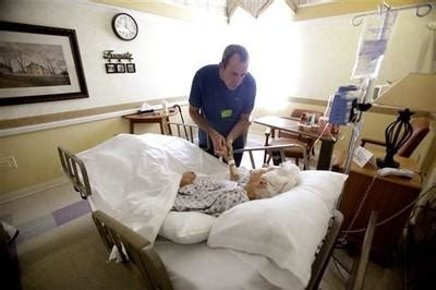 dying at home more are dying at home and in hospice but they are