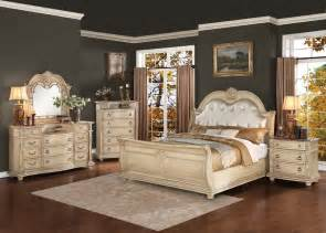 homelegance palace ii upholstered bedroom set antique
