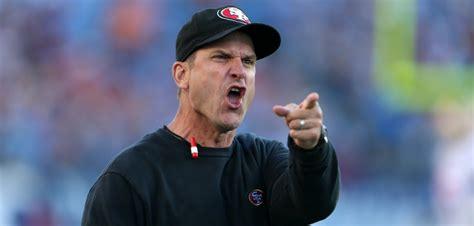 Harbaugh Meme - watch 49ers jim harbaugh s ridiculous sideline tantrums