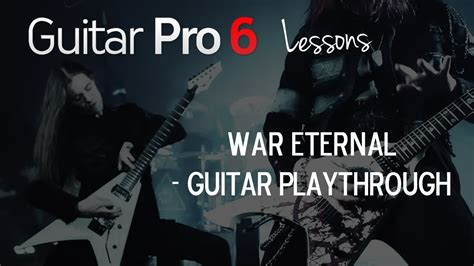 how to play war how to play quot war eternal quot by arch enemy youtube
