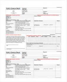 expense report template expense report template 11 free sle exle format