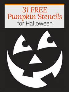 Pumpkin Carving Stencils Templates by Free Pumpkin Stencils For