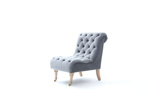 divani casa phoebe modern grey tufted accent chair