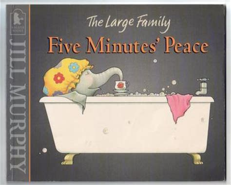 five minutes peace large 1406361909 five minutes peace by jill murphy children s bookshop hay on wye