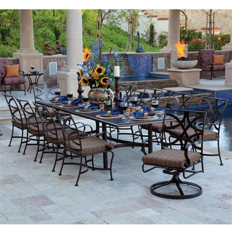 11 Patio Set by Ow Marquette 11 Patio Dining Set Ow Marquette Set2