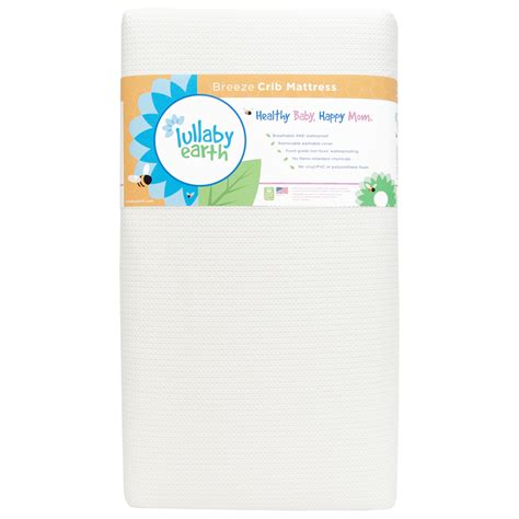 Lullaby Earth Crib Mattress Reviews Lullaby Earth Crib Mattress 2 Stage White Free Shipping