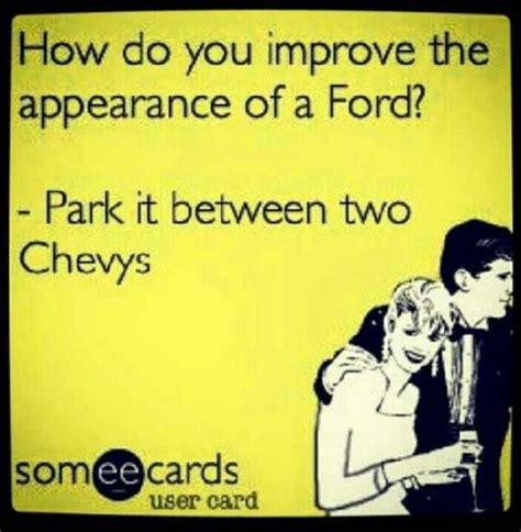 yep chevrolet    chevy trucks ford jokes