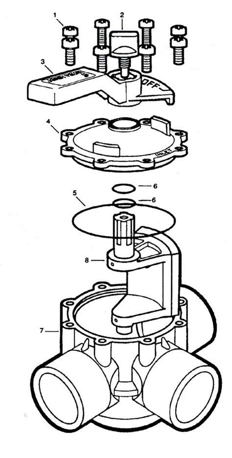 jandy valve parts diagram jandy never lube parts diagram