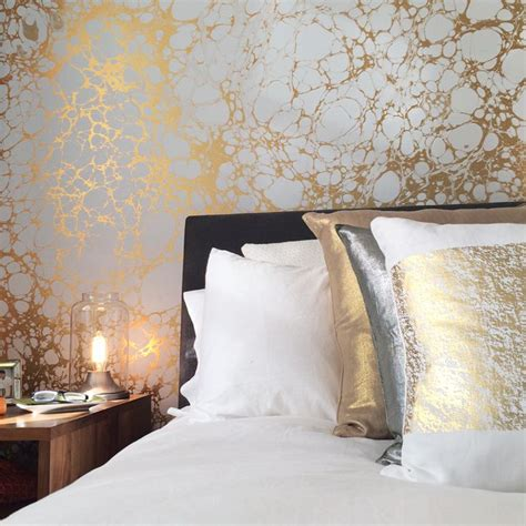 Wallpaper For Bedroom Walls Designs 6 Ways To Enhance Your Room With Designer Wallpaper Decorilla