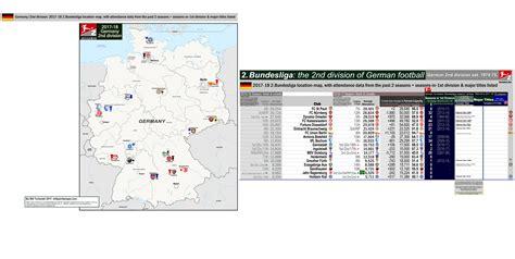 div location germany 2nd division 2 bundesliga location map for 2017
