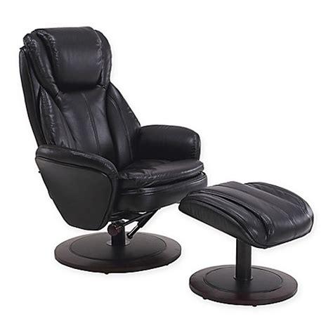 recliner and ottoman set comfort chair swivel recliner and ottoman set bed bath