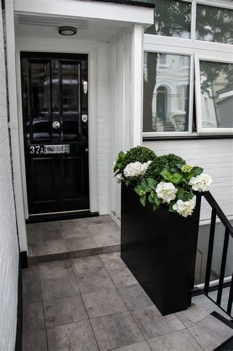 narrow window box planter door planters front door steel planters planters