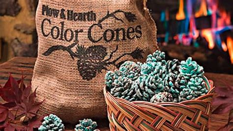 Pine Cones For Fireplace by These Diy Fireplace Pine Cones Change The Color Of The When You Toss Them In