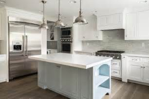 backsplashes for white kitchen cabinets white kitchen cabinets with gray brick tile backsplash