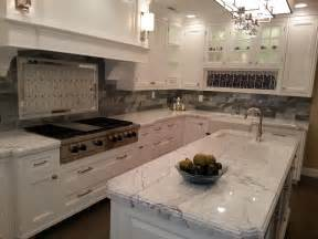Kitchen Island Countertop by Grey And White Granite Countertop For Counter Kitchen