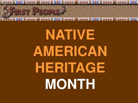 native american heritage month edsitement ppt native american heritage month powerpoint