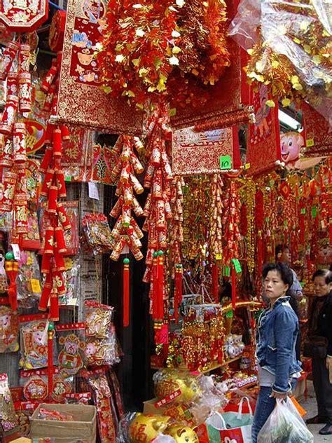 new year decoration in hong kong new year hong kong decorations 2007 china