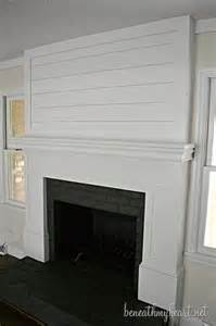 Brick Fireplace Cover Up The Brick Fireplace Is Looking Just X Actly » Ideas Home Design
