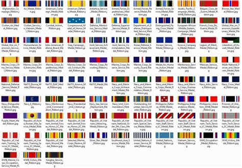 us military medals and ribbons identification for army help identify these ribbons medals decorations u s