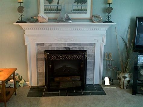 covering up a fireplace fireplace mantle cover ugly brick traditional living