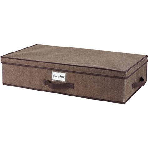 walmart under bed storage simplify storage box underbed walmart com